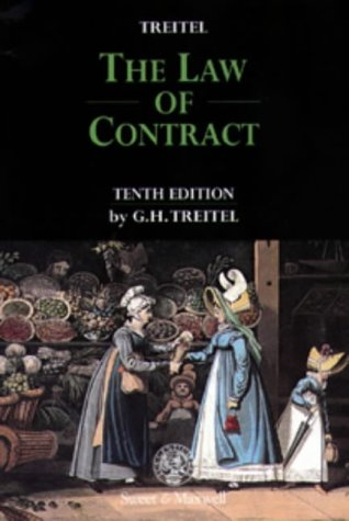 9780421634503: The Law of Contract