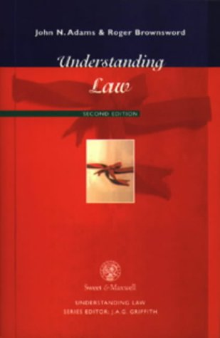 Understanding Law: Brownsword, Professor Roger,