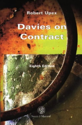 9780421635609: Davies on Contract (Concise course texts)