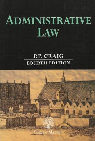9780421635906: Administrative law