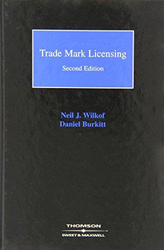Trade Mark Licensing (Hardcover): Neil Wilkof