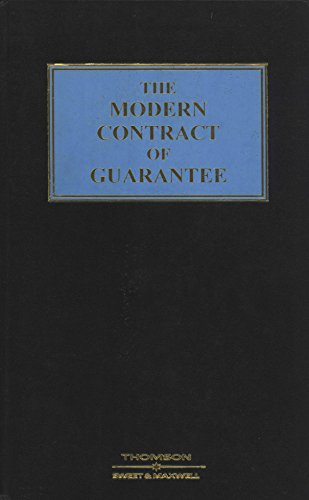 9780421641402: The Modern Contract of Guarantee: English Edition