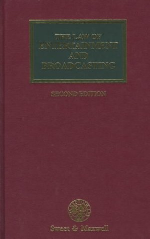 9780421650206: The Law of Entertainment and Broadcasting