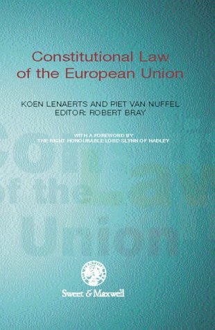 9780421651807: Constitutional Law of the European Union