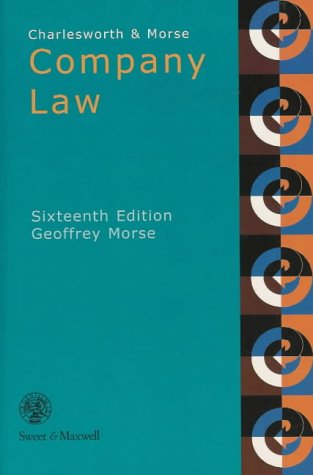 9780421652606: Charlesworth and Morse: Company Law