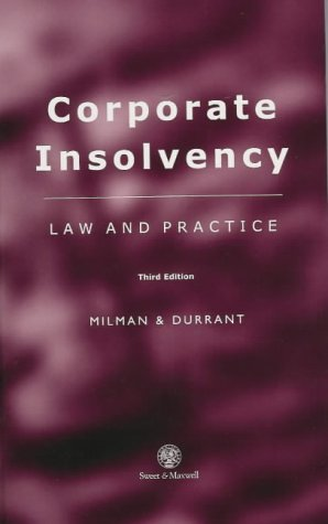 9780421656406: Corporate Insolvency: Law and Practice