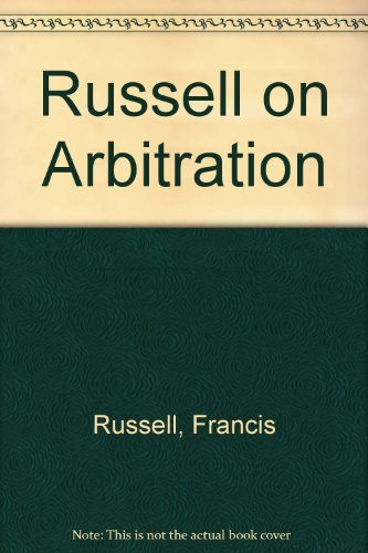 9780421661004: Russell on Arbitration