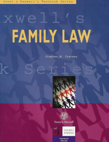 9780421669802: Family Law (Textbook)
