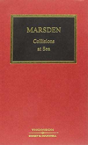9780421684003: Marsden on Collisions at Sea (British Shipping Law Library)
