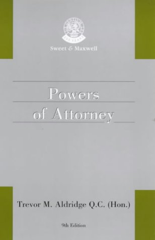 9780421691803: Powers of Attorney