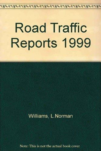 9780421699304: Road Traffic Reports 1999