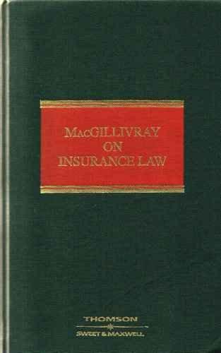 9780421704305: MacGillivray on Insurance Law