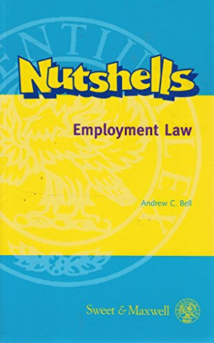 9780421715905: Employment Law (Nutshells)
