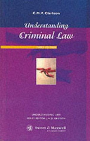 9780421717503: Understanding Criminal Law (Understanding Law)