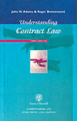 Understanding Contract Law (Understanding Law): John N. Adams,
