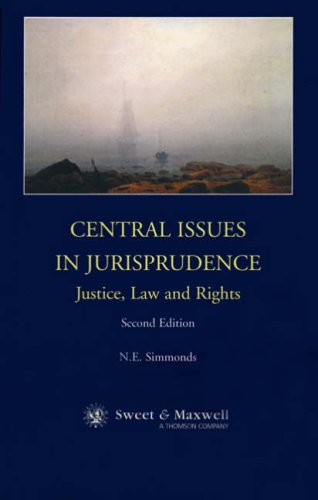 9780421741201: Central Issues in Jurisprudence: Justice, Law and Rights