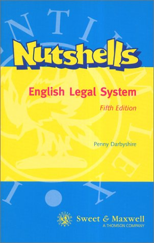9780421742802: English Legal System (Nutshells)