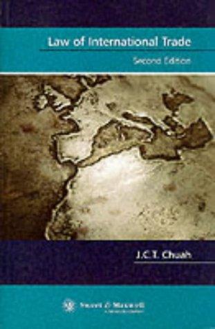 9780421746503: Law of International Trade