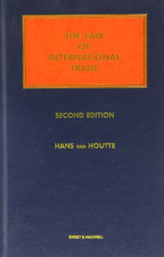 9780421764804: The Law of International Trade