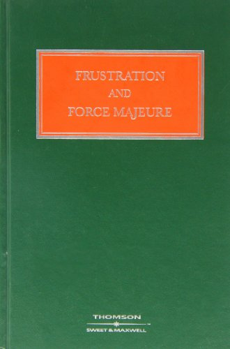 9780421778207: Frustration and Force Majeure