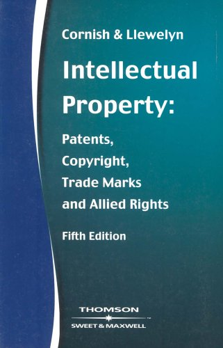 9780421781207: Intellectual Property: Patents, Copyrights, Trademarks & Allied Rights