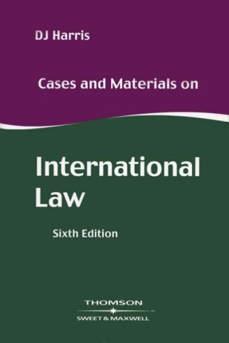 9780421781504: Cases and Materials on International Law