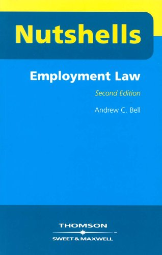 9780421783706: Employment Law (Nutshells)
