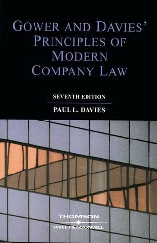 9780421788206: Gower and Davies : The Principles of Modern Company Law