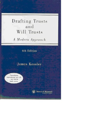 9780421793101: Drafting Trusts and Will Trusts