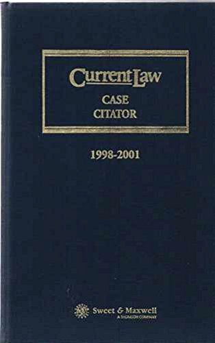 Current Law Case Citator: 1998-2001: Catherine Collins, Susan