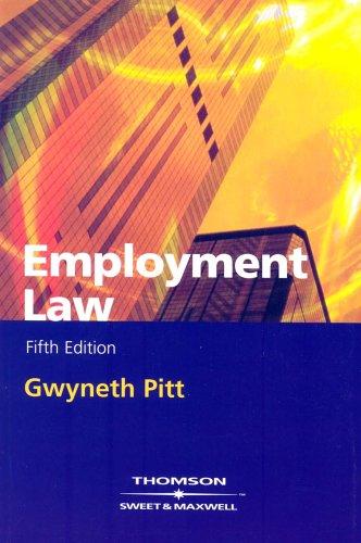9780421799400: Employment Law