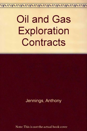 9780421829206: Oil and Gas Exploration Contracts