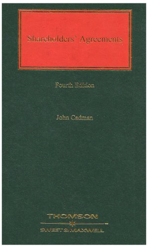 Shareholders' Agreements (Commercial) (0421849606) by John Cadman