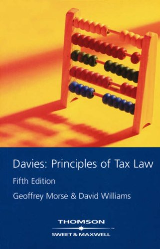 9780421858305: Davies - Principles of Tax Law