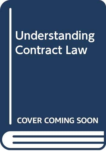 Understanding Contract Law: Brownsword, Professor Roger,