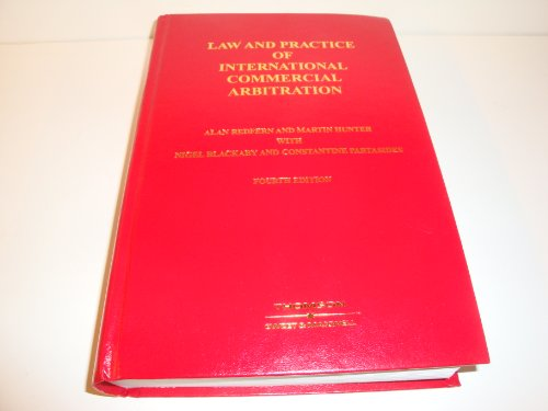 9780421862401: Law and Practice of International Commercial Arbitration