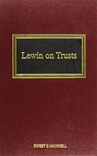 Lewin on Trusts: Rennie, Professor Robert,