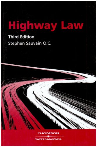 9780421874909: Highway Law - AbeBooks - Stephen Sauvain