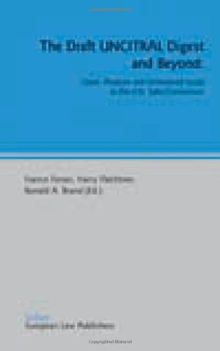 9780421875401: The Draft UNCITRAL Digest and Beyond