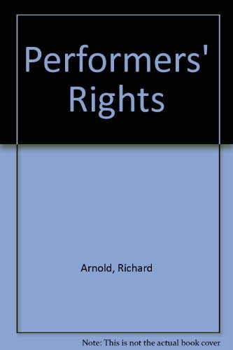 Performers' Rights: Arnold, Richard