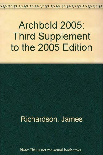 Archbold 2005: Third Supplement to the 2005 Edition