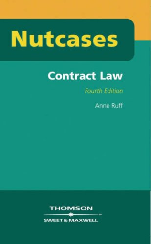 9780421890305: Contract Law (Nutcases)