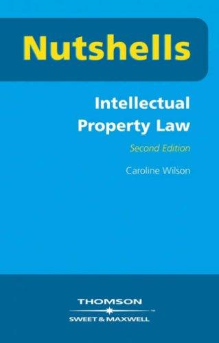9780421891500: Nutshells Intellectual Property Law