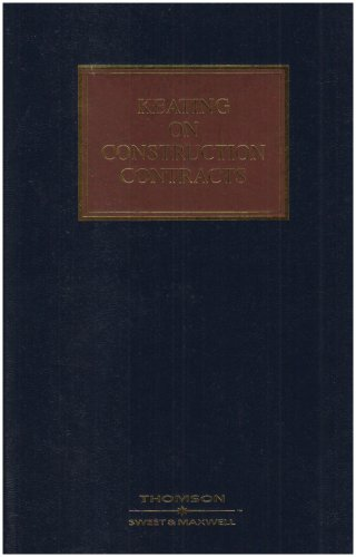 9780421899902: Keating on Construction Contracts: Mainwork and Supplement