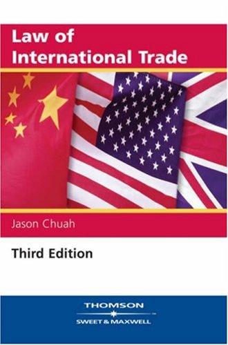 9780421901100: Law of International Trade