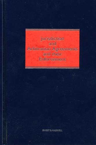 9780421904804 Jurisdiction And Arbitration Agreements And Their