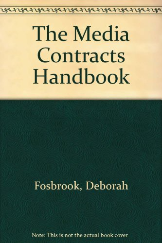 9780421920200: The Media Contracts Handbook