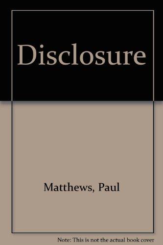 9780421922204: Disclosure