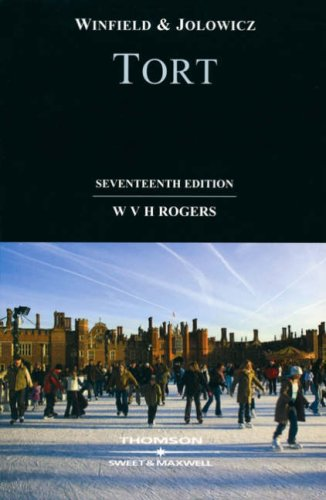 9780421922907: Winfield and Jolowicz on Tort