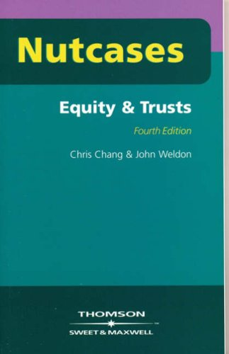 9780421928404: Nutcases Equity and Trusts